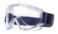Tector chemicaliënbril  *ACETAT* dicht, EN 166, acetate ruit stuks