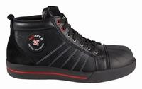 Redbrick Onyx Safety Sneaker Hoog S3 + KN zwart