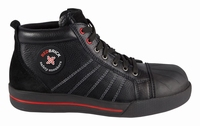 Redbrick Black-Onyx Safety Sneaker Hoog S3 + KN zwart