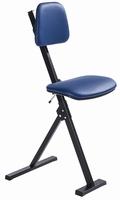 Global zit-sta stoel met schuifzitting 50 - 85 cm stuks