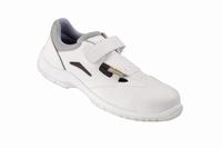 Lugo sandalen klitteband sanitary  wit en iso 20345 s1 SRC paar