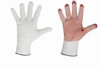 Nopper - griphand - EN388, 100% polyamide nopjes handschoen, Paar