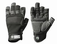 Mechanics handschoen Carpenters met 3 vrije vingertoppen