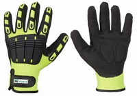 Mechanics handschoen Impact Resist, snijklasse 3