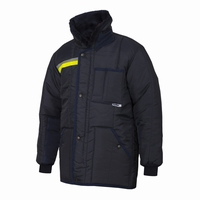 IBV parka Classic-Yellow Safety Reflex koelhuis orderpicker