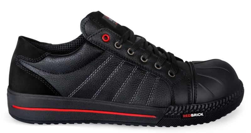 Redbrick Black Ruby Safety Sneaker Laag S3 (Black)