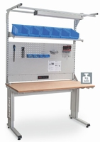 ESBH Powerline-C hoogteverstelbare zwaarlasttafel multiwand