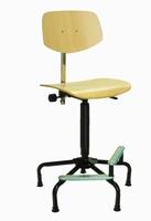 Ambaegtik IV High - hoge stabiele stoel met voetsteunen