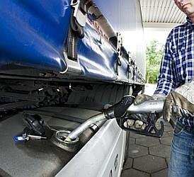 Dieseltankbeveiliging vrachtwagens en machines