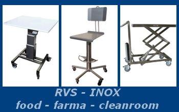 RVS - cleanroom producten