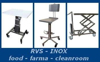 RVS - cleanroom producten