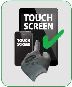 Touch-screen handschoenen
